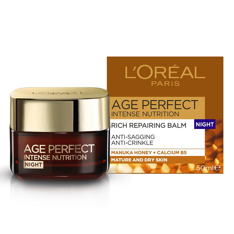 L'Oreal Age Perfect Intense Nutrition Rich Repairing Night Cream 50ml