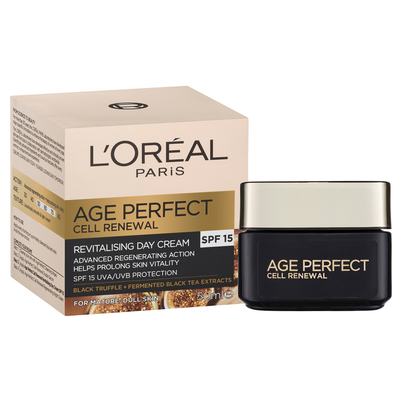 L'Oréal Paris Age Perfect Cell Renewal Revitalising Spf15 Day Cream 50mL