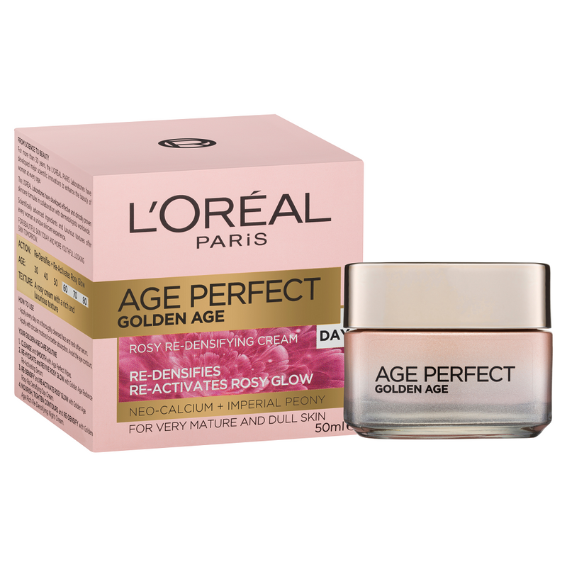 L'Oréal Paris Golden Age Rosy Re-Densifying Day Cream 50mL
