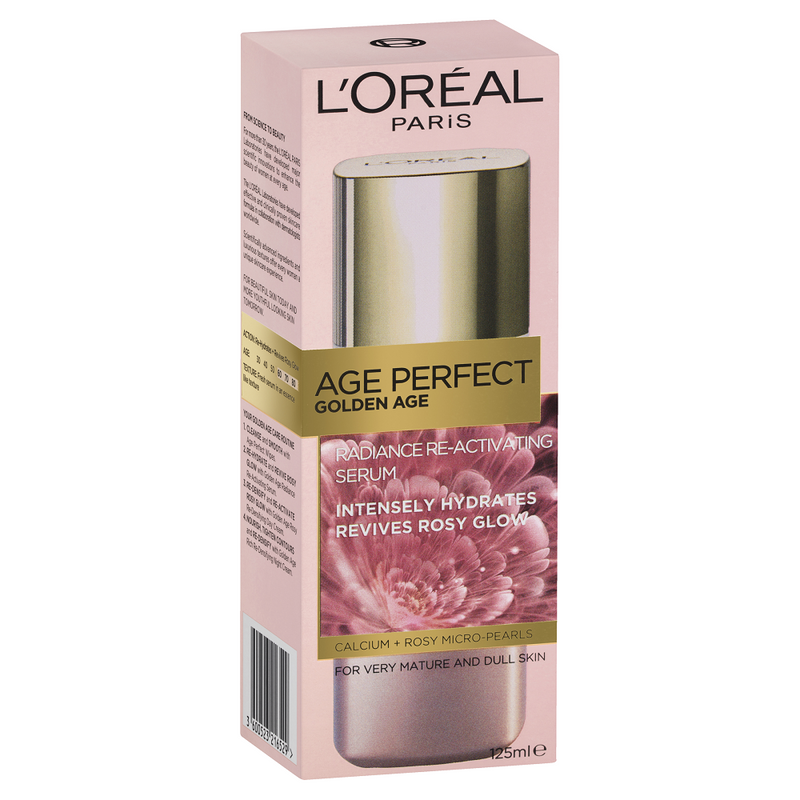 L'Oréal Paris Golden Age Radiance Re-Activating Serum 125mL
