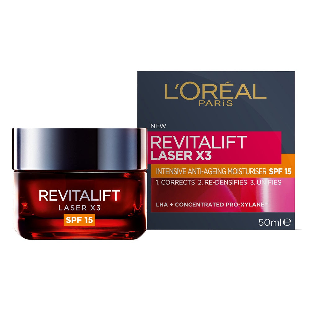 L'Oréal Paris Revitalift Laser X3 SPF15 Day 50mL