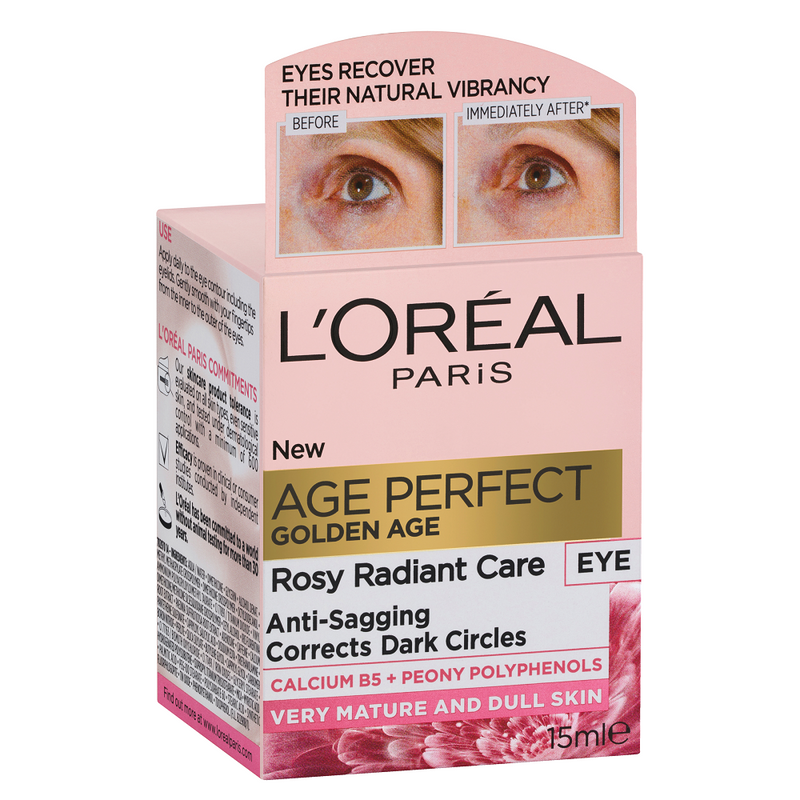 L'Oréal Paris Age Perfect Golden Age Rosy Eye Cream 15mL
