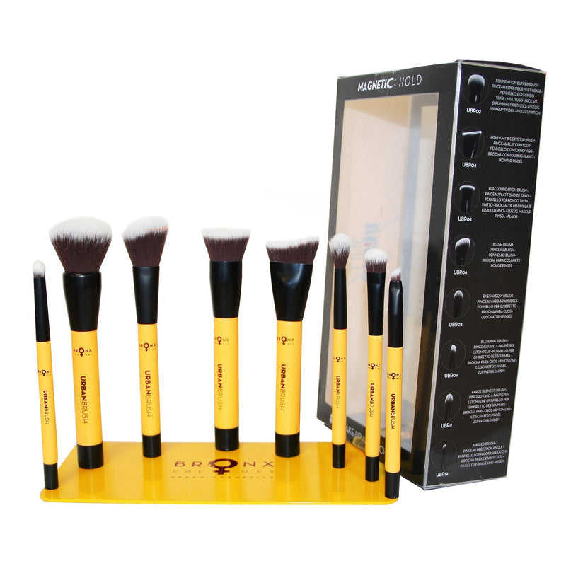 Bronx Magnetic Hold Urban Brushes Set #02