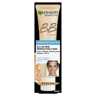 GARNIER SkinActive BB Cream Combination to Oily Skin -Medium