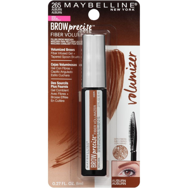 Maybelline Brow Precise Fiber Volumizer Eyebrow Gel - Auburn