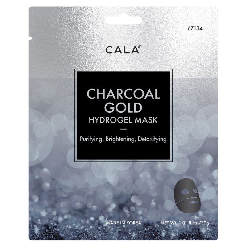 Cala Hydrogel Mask - Charcoal Gold