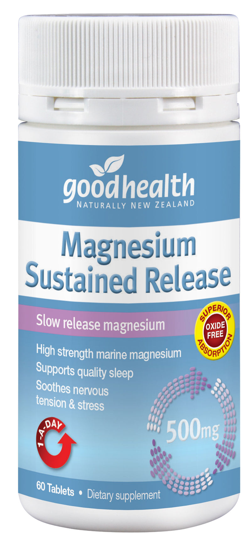 Magnesium Sustained Release - 60 Tablets