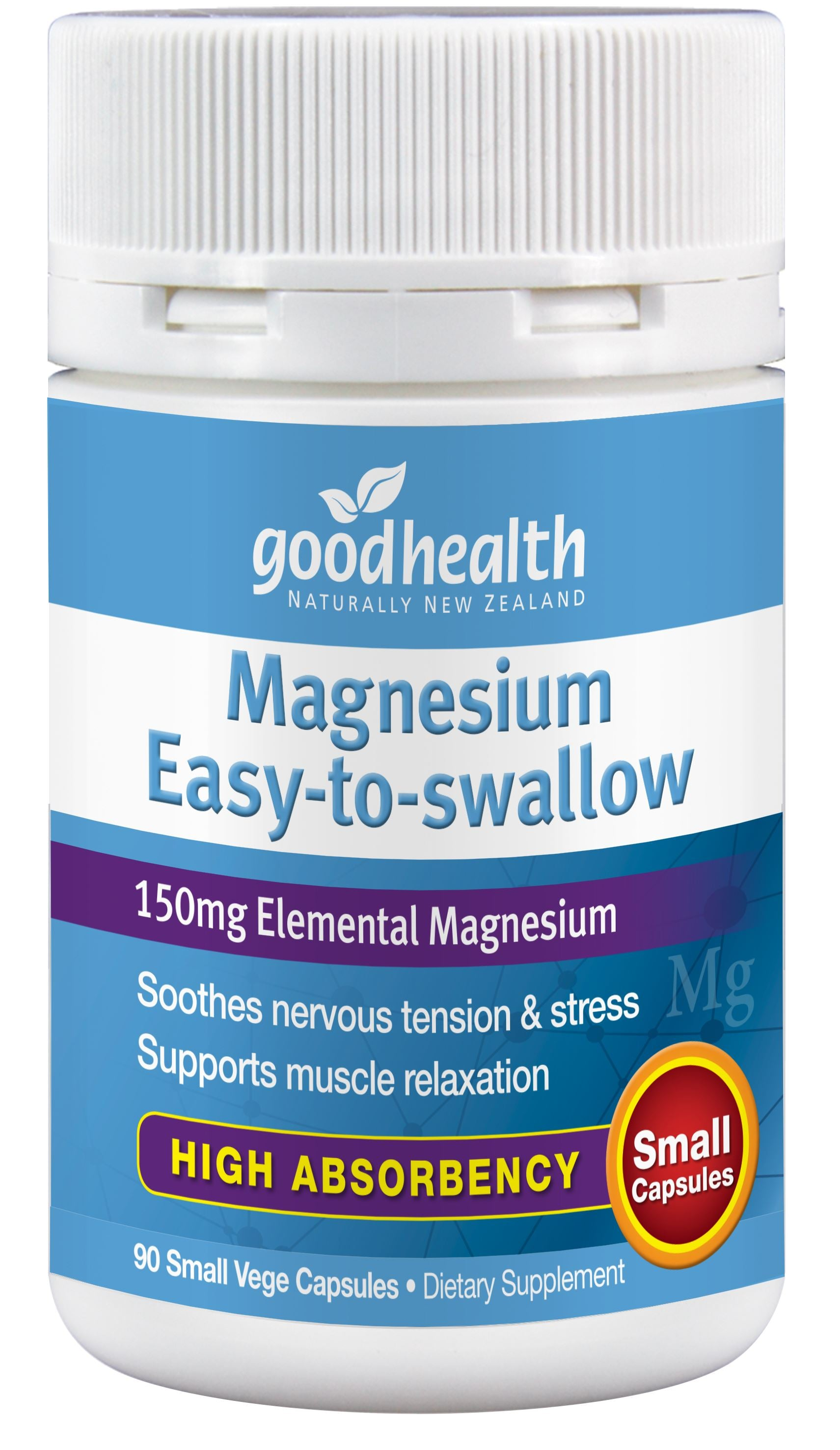 Magnesium Easy To Swallow - 90 Capsules