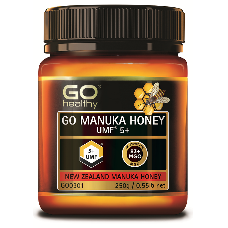 GO Healthy GO Manuka Honey UMF 5+ 250g