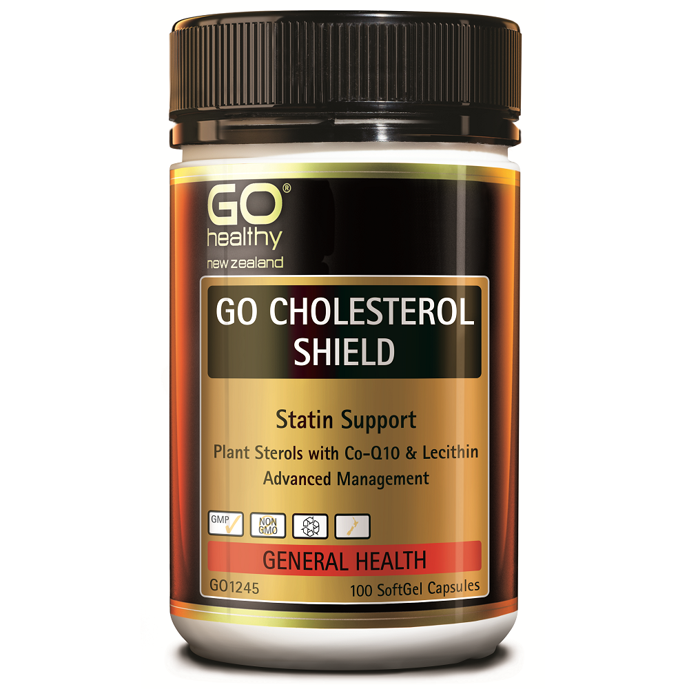 GO Healthy GO Cholesterol Shield - 100 Softgel Capsules