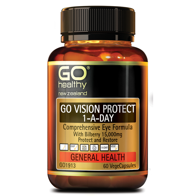 GO Healthy GO Vision Protect 1-a-Day - 60 Vege Capsules