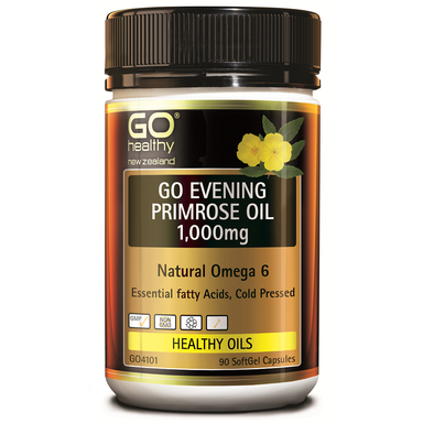 GO Healthy GO Evening Primrose Oil 1,000mg - 90 Softgel Capsules