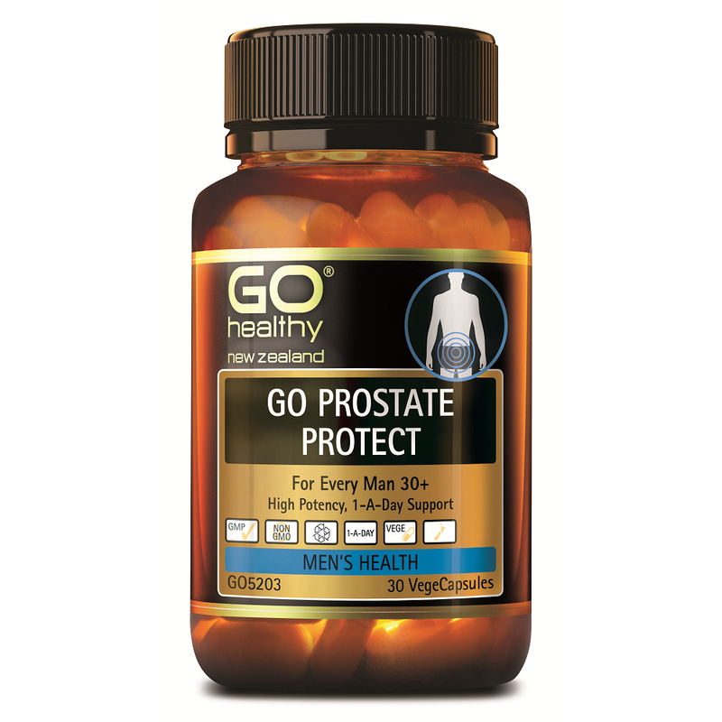 GO Healthy GO Prostate Protect - 30 Vege Capsules