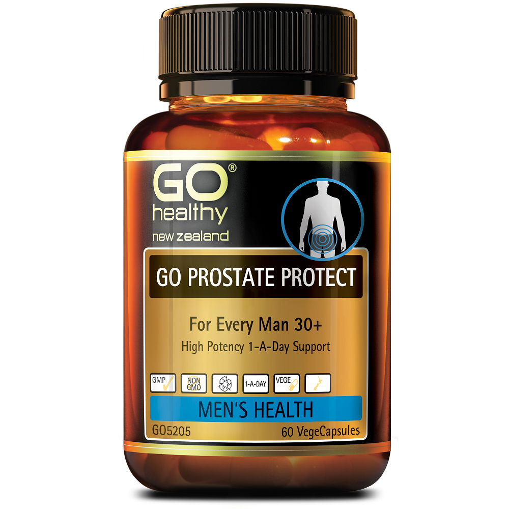 GO Healthy GO Prostate Protect - 60 Vege Capsules