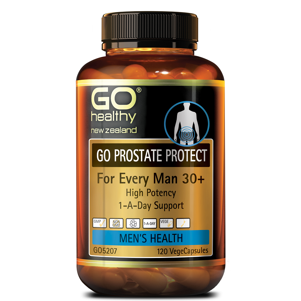GO Healthy GO Prostate Protect - 120 Vege Capsules