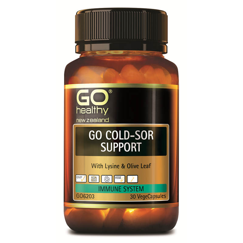 GO Healthy GO Cold-Sor Support - 30 Vege Capsules