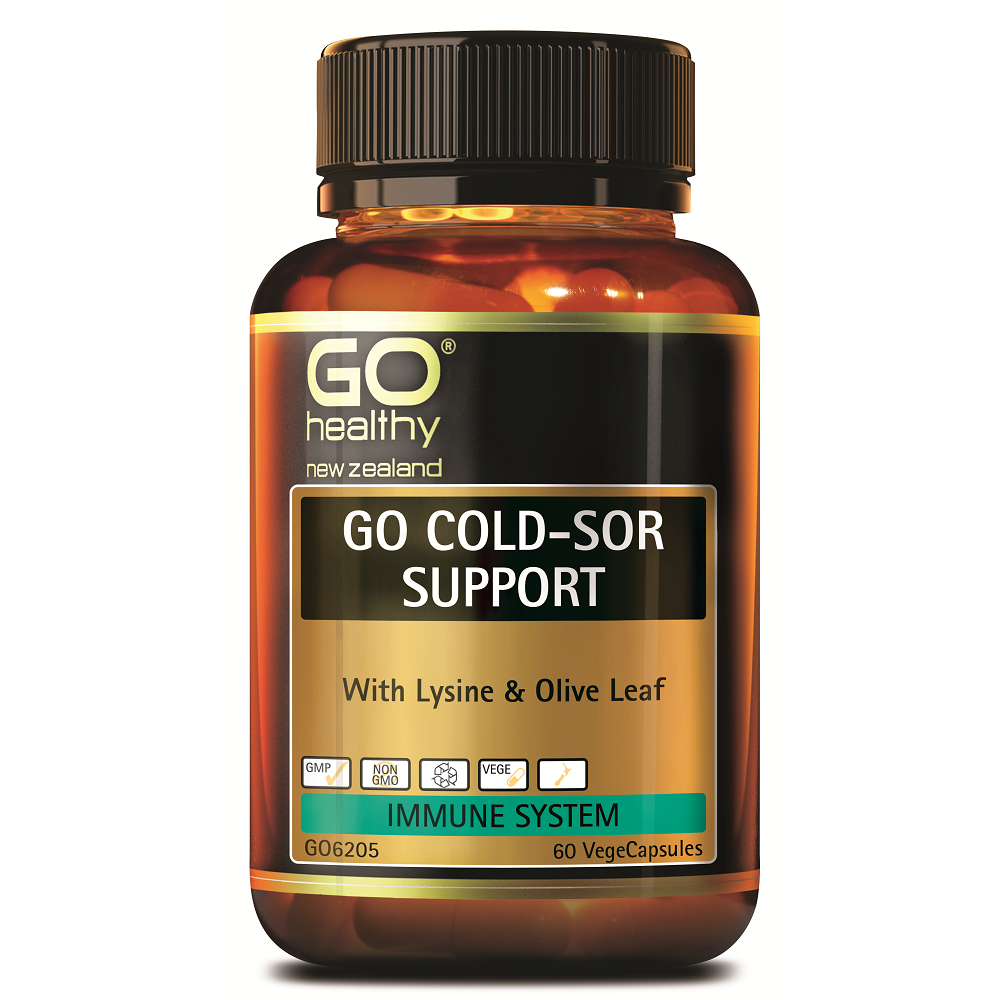 GO Healthy GO Cold-Sor Support - 60 Vege Capsules