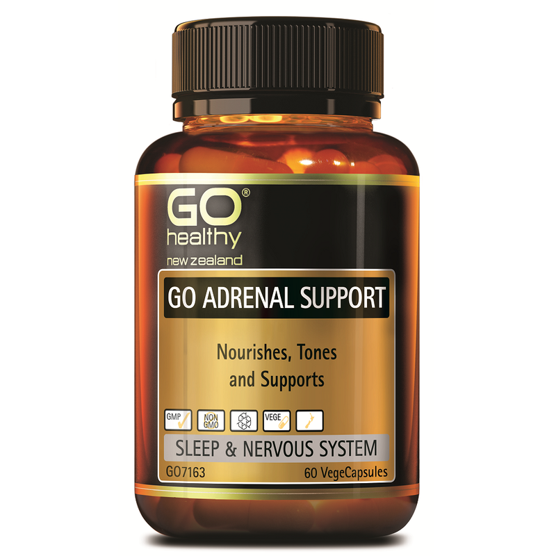 GO Healthy GO Adrenal Support - 60 Vege Capsules