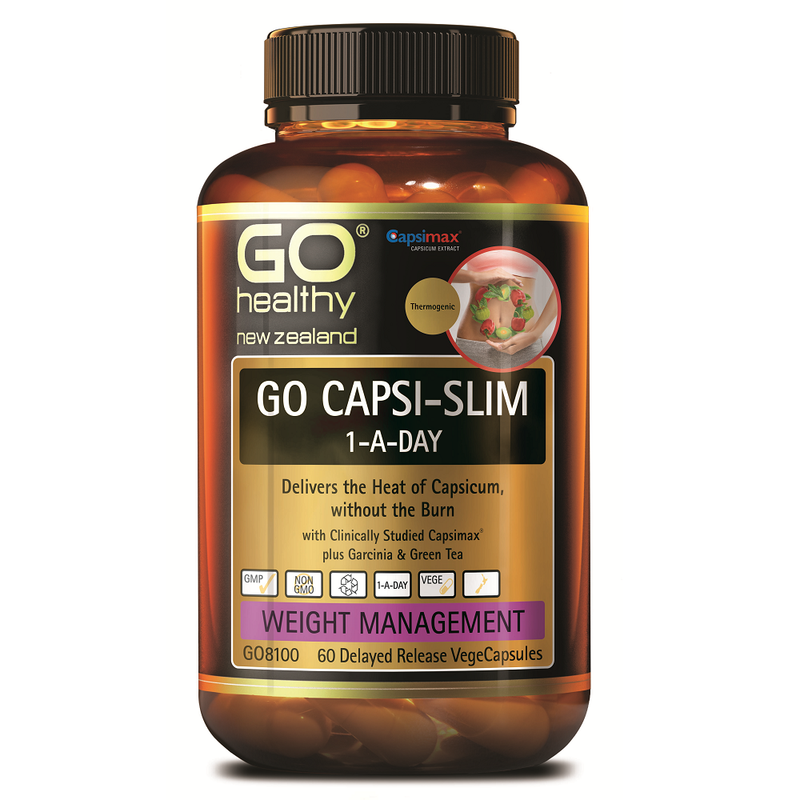 GO Healthy GO Capsi-Slim 1-a-Day - 60 Vege Capsules