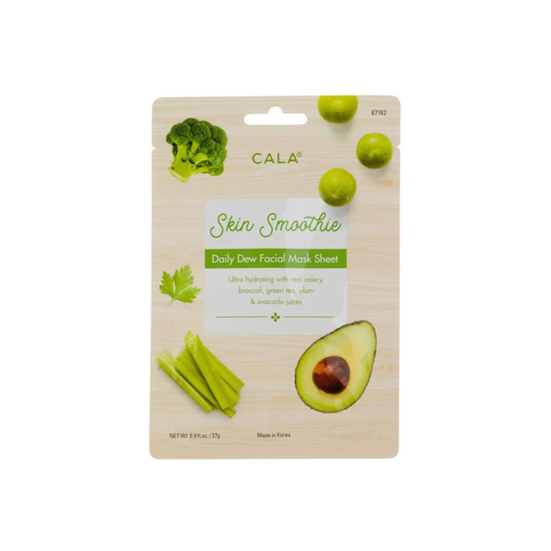 Cala Skin Smoothie Daily Dew Facial Mask Sheet