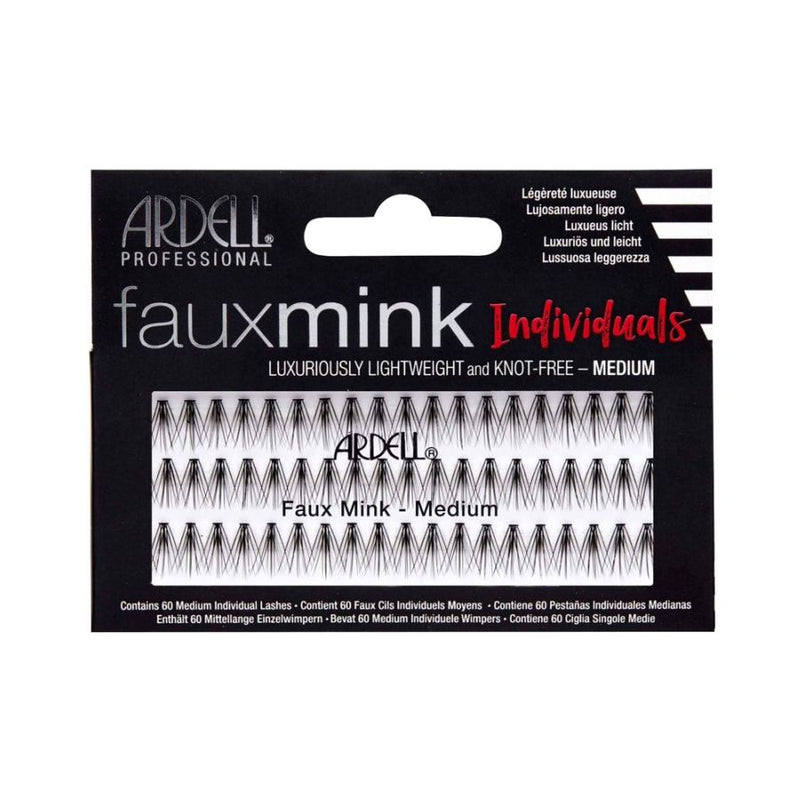 Ardell Fauxmink Individuals - Medium Black