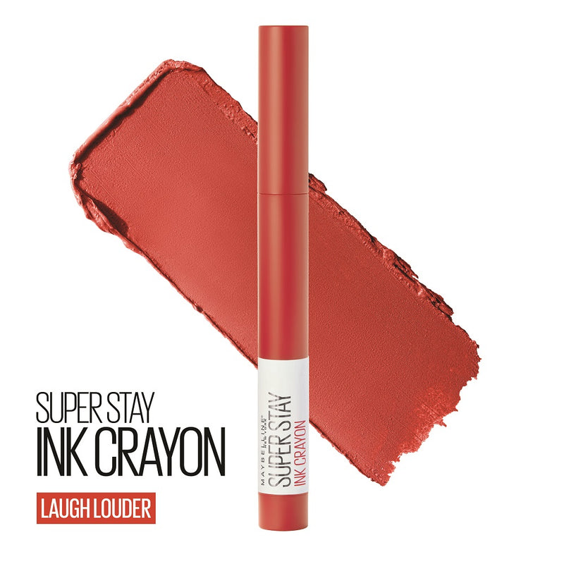 Maybelline SuperStay Ink Crayon Lipstick - Laugh Louder