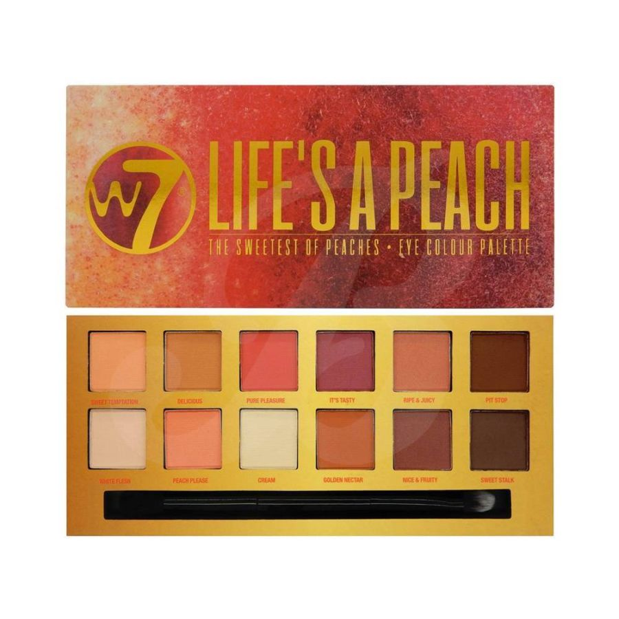 W7 Life's A Peach Eye Colour Palette