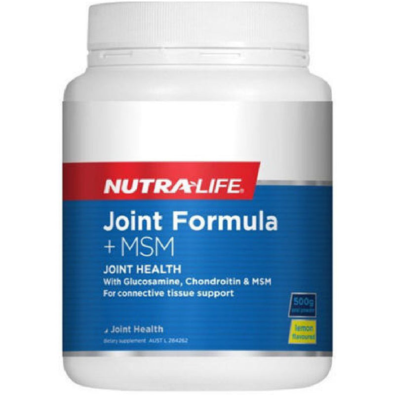 Nutra Life Joint Formula + MSM - 500g Powder