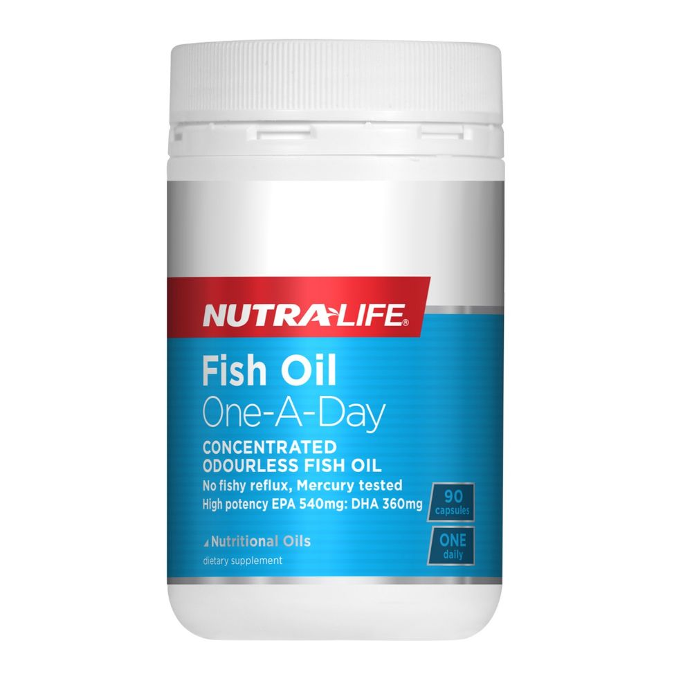 Nutra Life Fish Oil One-a-Day - 90 Capsules