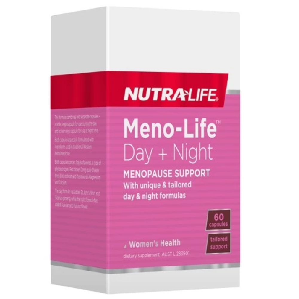 Nutra Life Meno-Life™ Day + Night - 60 Capsules