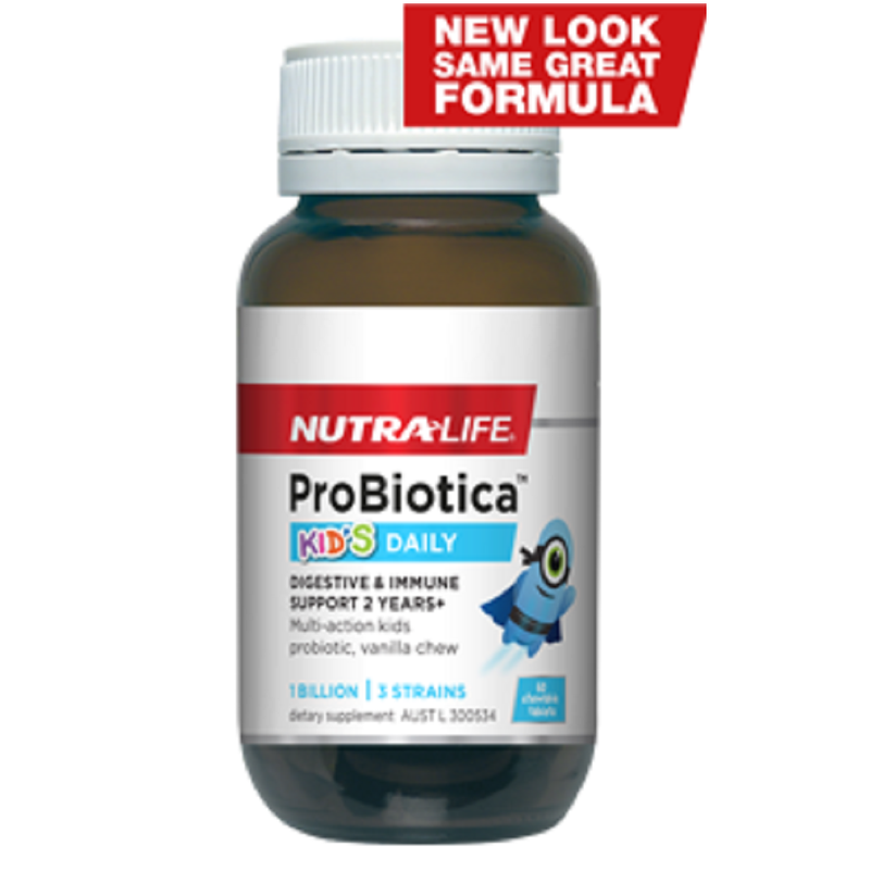 Nutra Life Probiotica Kid's Daily - 30 Chewable Tablets