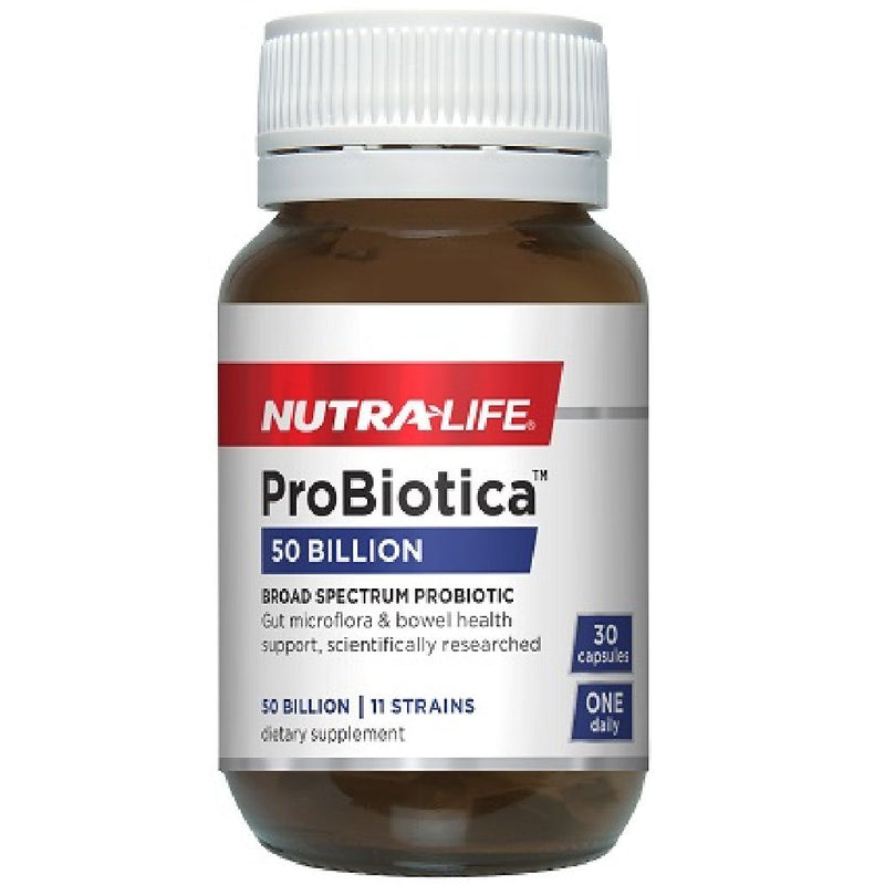 Nutra Life Probiotica 50 Billion - 30 Capsules