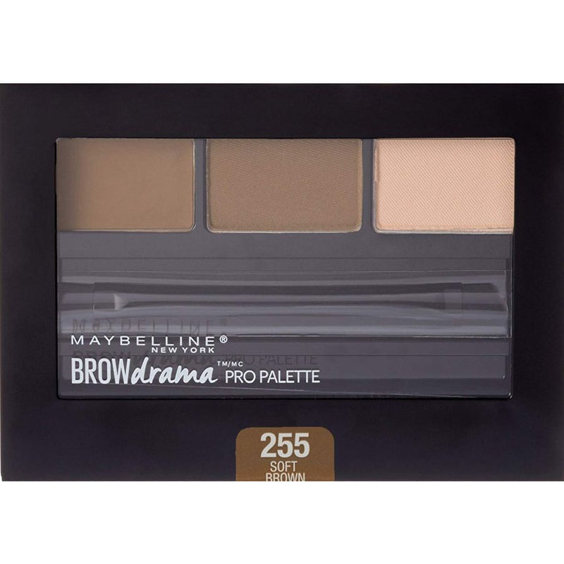 Maybelline Brow Drama Pro Eyebrow Filler Palette - 255 Soft Brown
