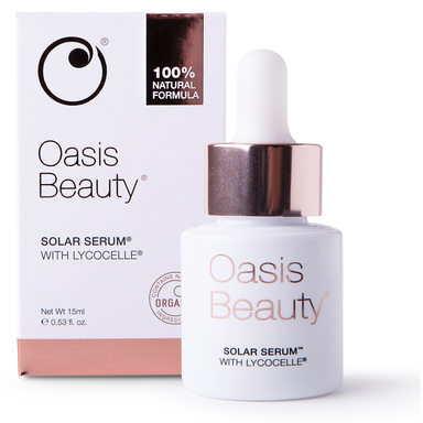 Oasis Beauty Solar Serum with Lycocelle - 15mL