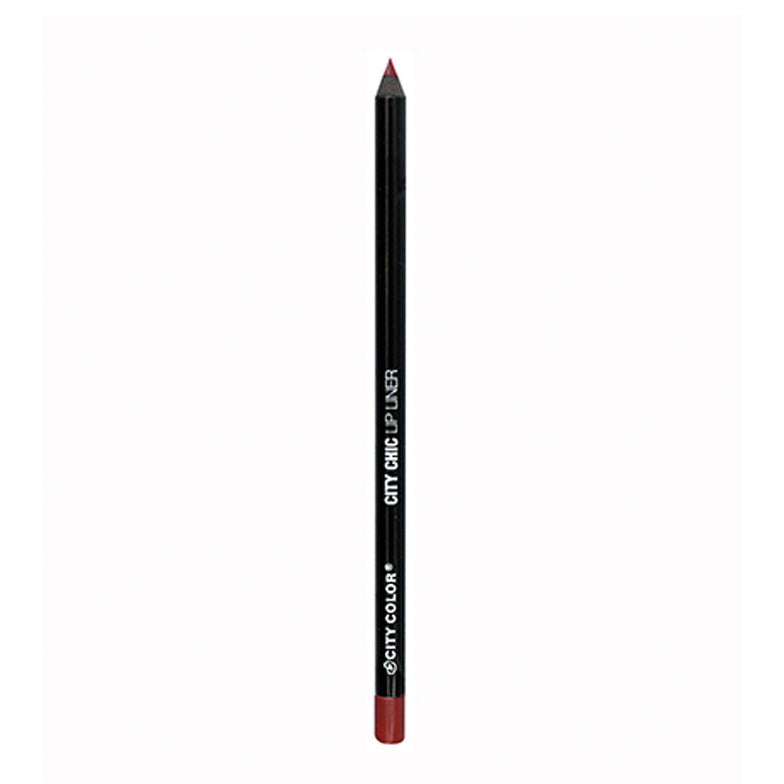 City Color Lip Liner | Maroon