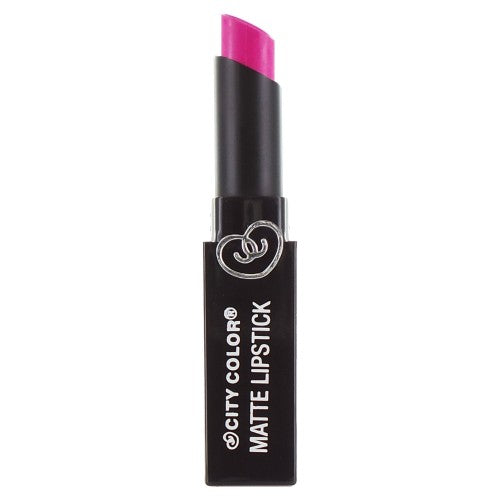 City Color Matte Lipstick | Fuschia