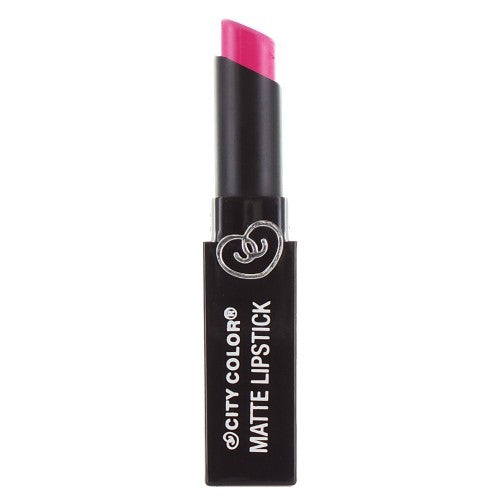 City Color Matte Lipstick | Hot Pink