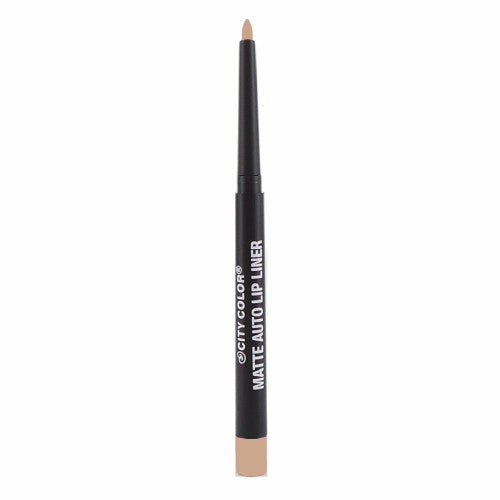City Color Matte Auto Lip Liner | Nude