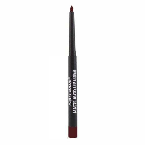 City Color Matte Auto Lip Liner | Berry