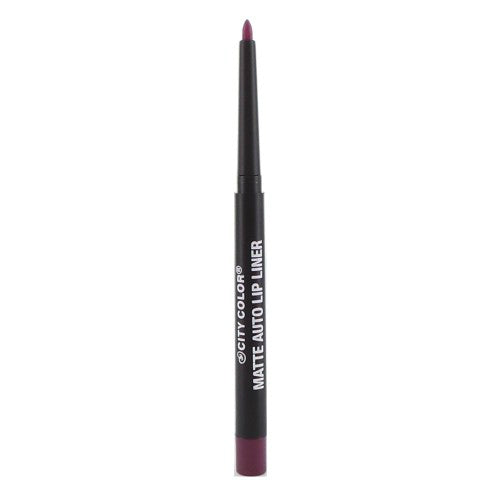 City Color Matte Auto Lip Liner | Purple