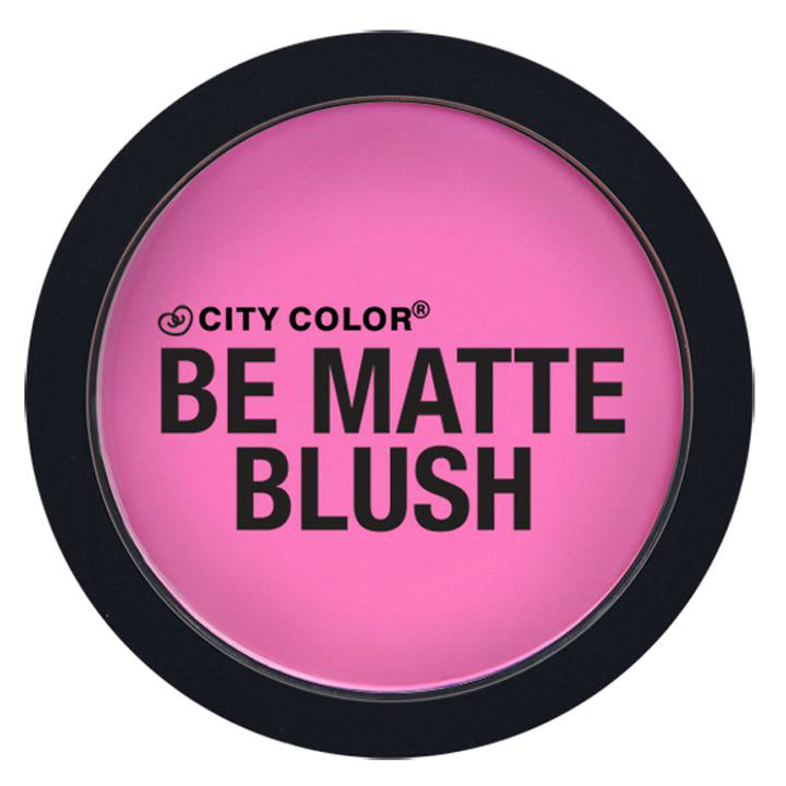 City Color Be Matte Blush | Dragonfruit