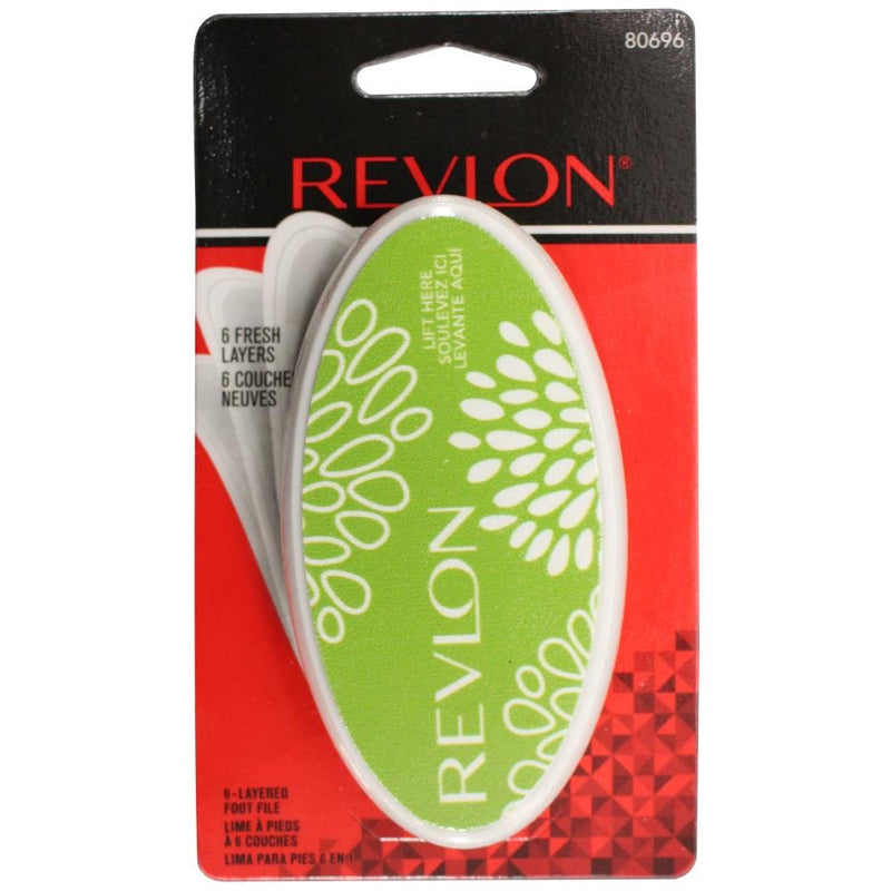 Revlon 6-Layered Foot File | Assorted Colours