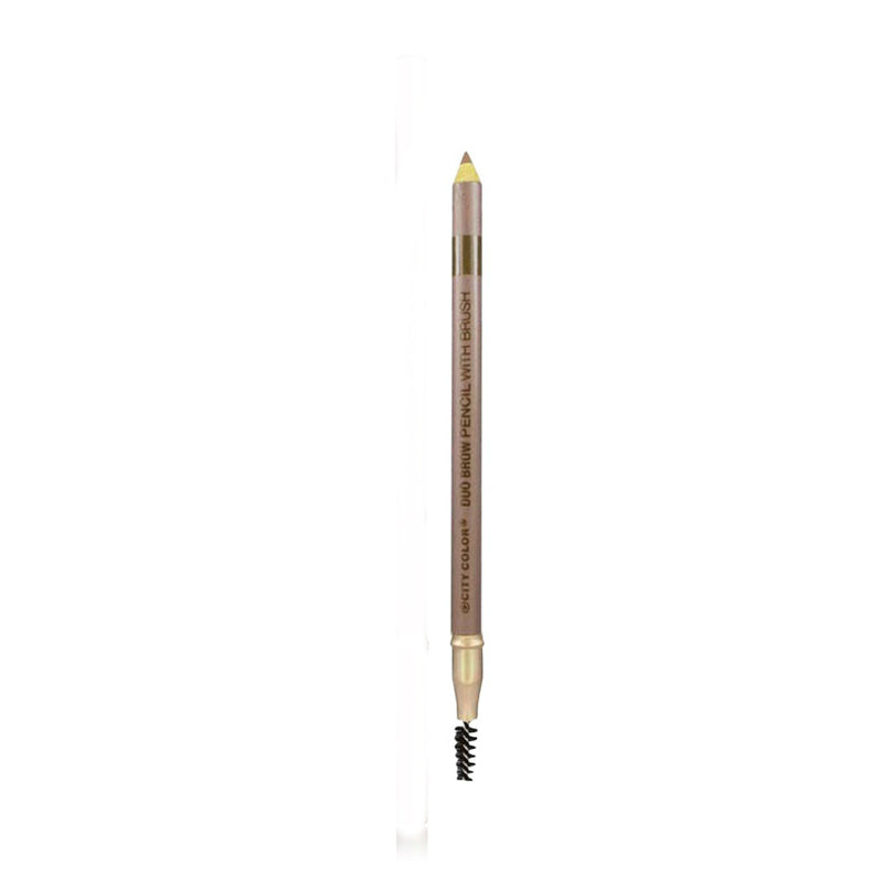 City Color Duo Brow Pencil With Brush | Blonde