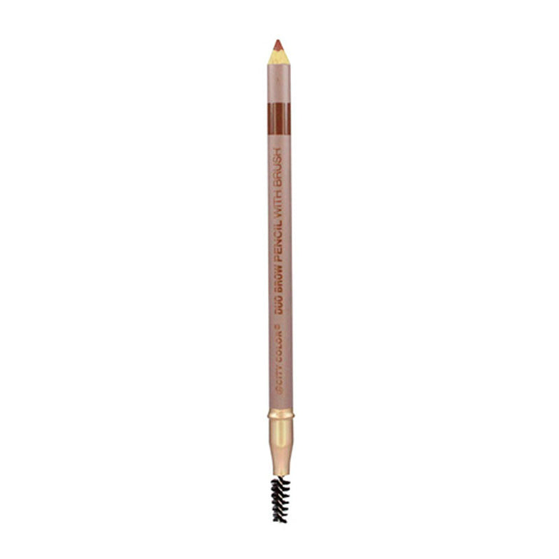City Color Duo Brow Pencil with Brush | Light Brown