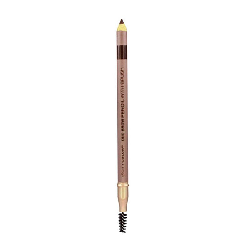 City Color Duo Brow Pencil with Brush | Brunette