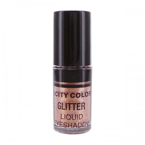 City Color Glitter Liquid Eyeshadow | Rose Gold