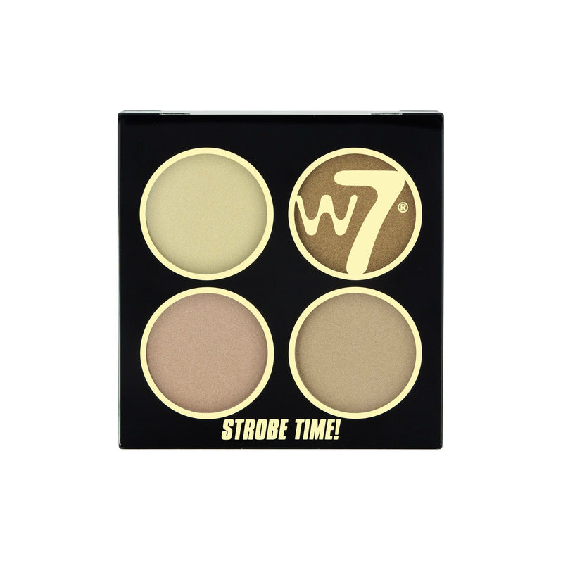 W7 It's Strobe Time Shimmer Powders | Vivid Glow
