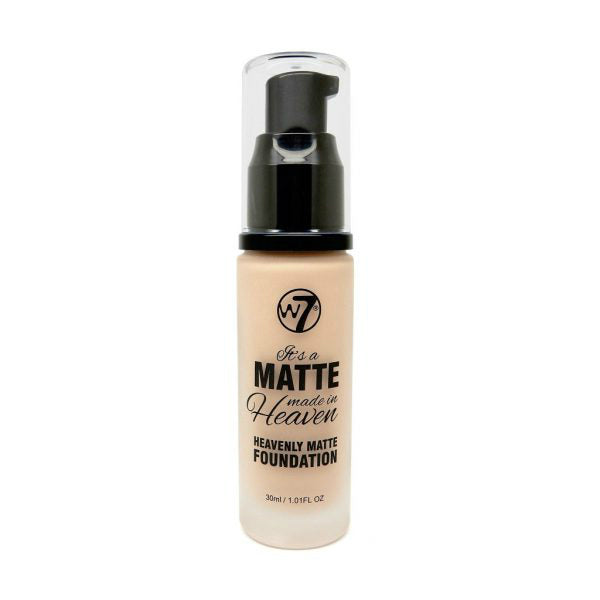 W7 Matte Made In Heaven Foundation | Fresh Beige