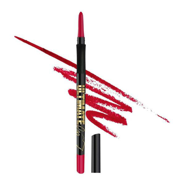 L.A. Girl Ultimate Intense Stay Auto Lipliner - 346 Relentless Red