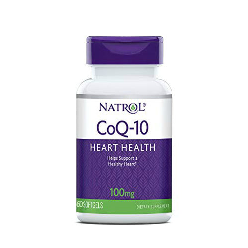 Natrol CoQ-10 100mg - 60 Softgels